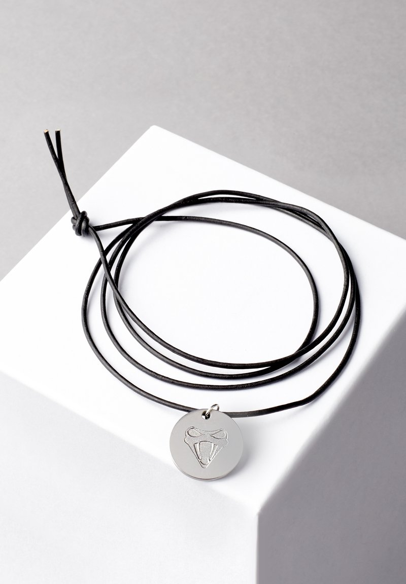 COBRAELEVEN - MIT GRAVUR BY ERDOGAN ATALAY - Necklace - silver-coloured