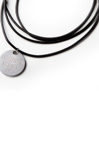 COBRAELEVEN - MIT GRAVUR BY ERDOGAN ATALAY - Necklace - silver-coloured - 4