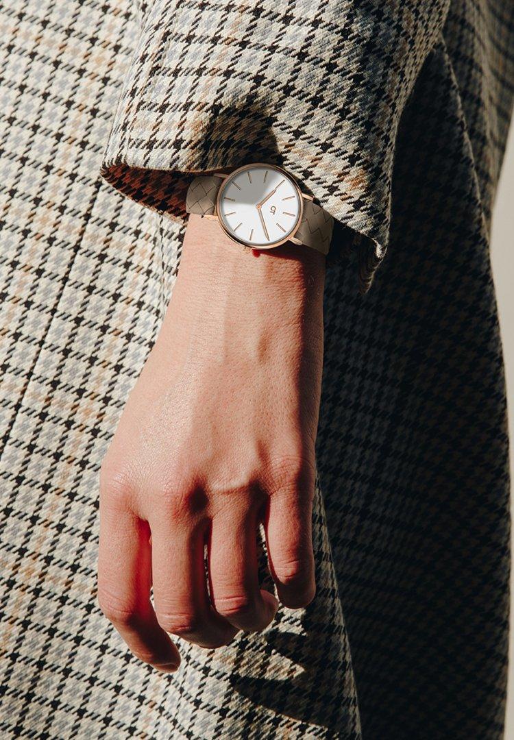 Cool Time - Watch - braun-weiß
