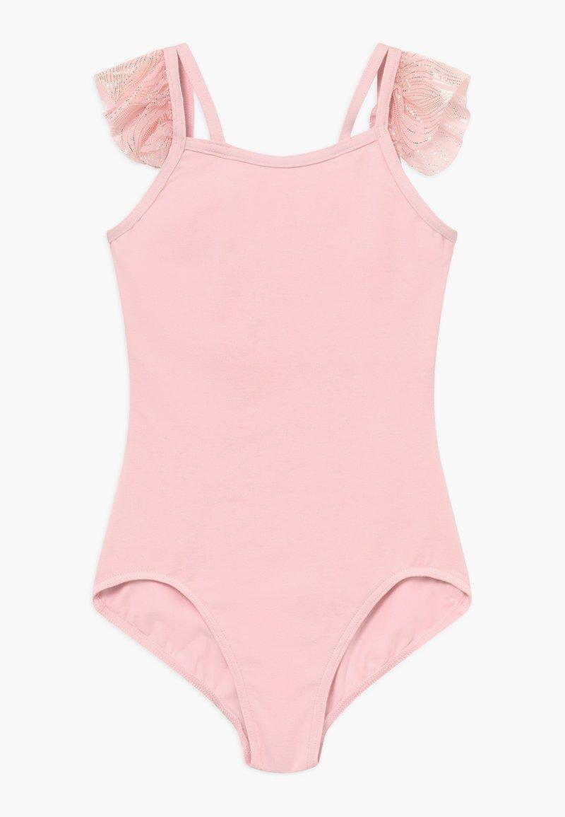 Capezio - GIRLS' BALLET FLUTTER SLEEVE - Dres - pink