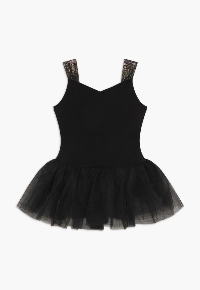 GIRLS' BALLET CAMISOLE - Sports dress - black