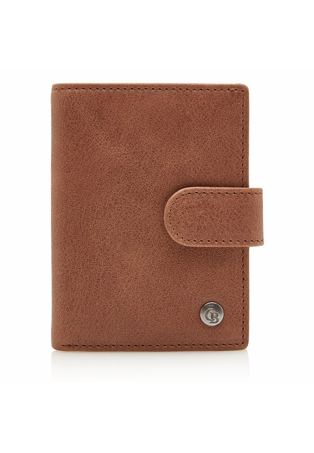 10 KARTEN RFID - Wallet - cognac