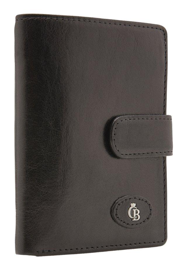 MIT REISSVERSCHLUSS RFID - Portemonnee - schwarz