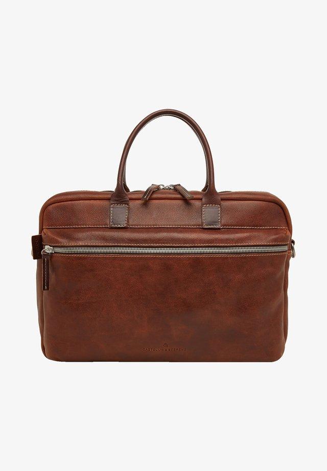 RFID - Laptop bag - light brown