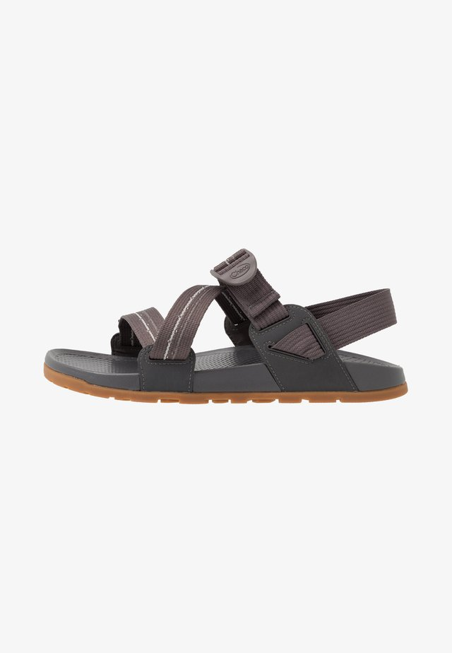 LOWDOWN - Walking sandals - gray