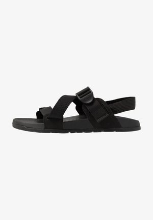 LOWDOWN  - Walking sandals - black