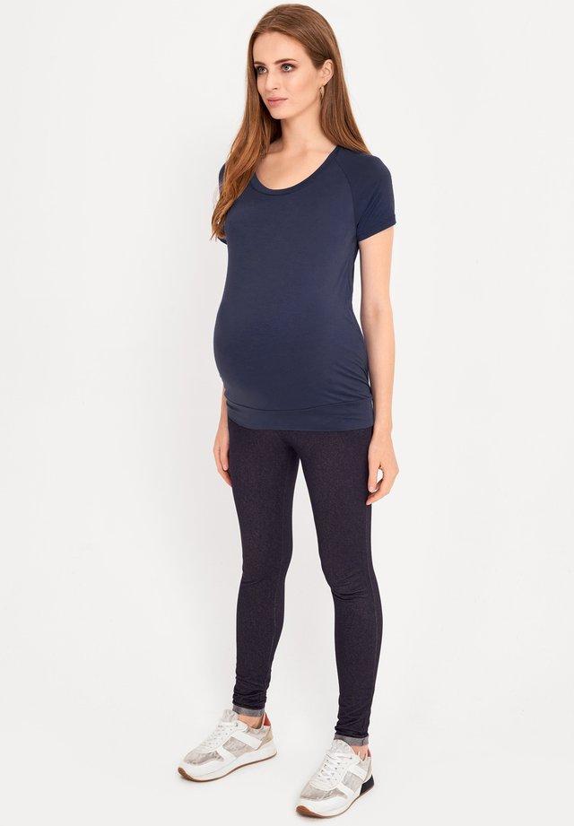BASIC - T-shirt basic - navy blue