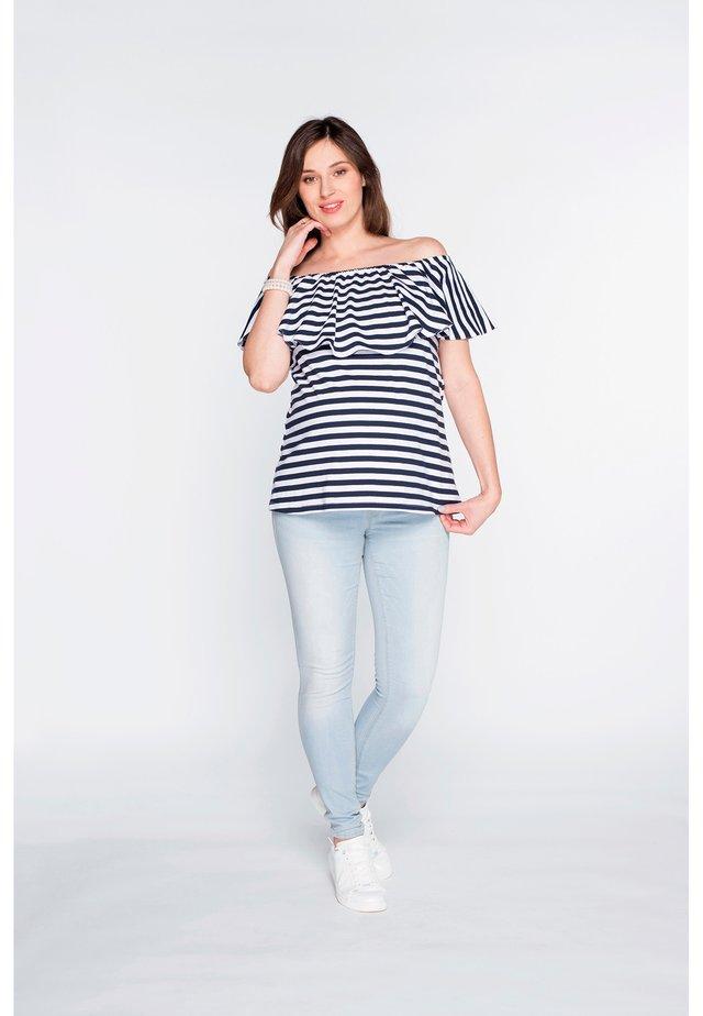 T-shirt basic - striped