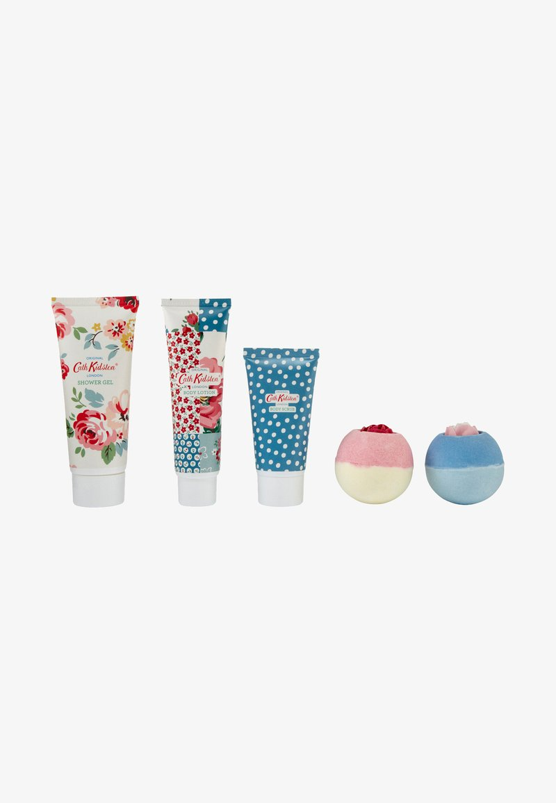 Cath Kidston Beauty - PATCHWORK PICNIC TIN GIFT SET - Bath and body set - -