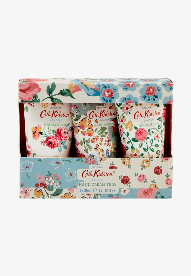 Cath Kidston Beauty - PATCHWORK HAND CREAM TRIO - Bath and body set - -