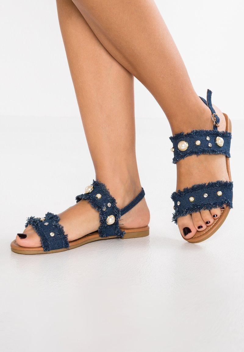 Cassis côte d'azur - BRUTUS - Sandals - bleu