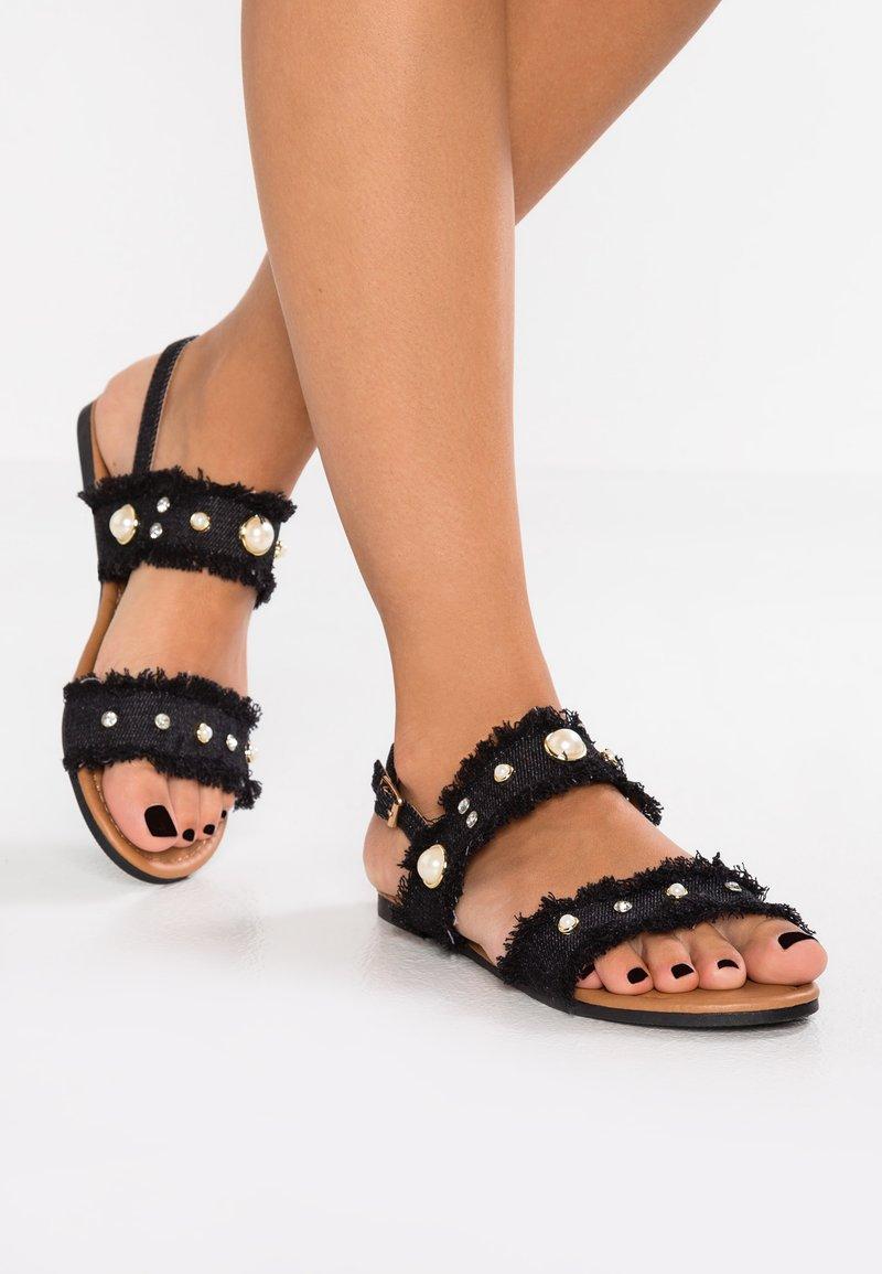 Cassis côte d'azur - BRUTUS - Sandals - noir