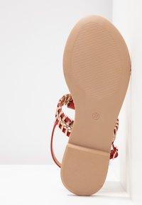 Cassis côte d'azur - INUL - T-bar sandals - rouge - 5