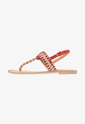 INUL - T-bar sandals - rouge