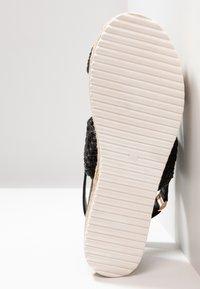Cassis côte d'azur - JANELLE - Platform sandals - noir - 6