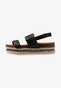 Cassis côte d'azur - JANELLE - Platform sandals - noir - 1