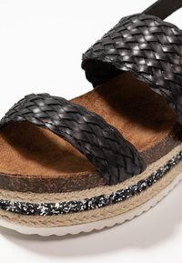 Cassis côte d'azur - JANELLE - Platform sandals - noir - 2