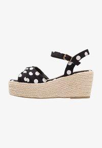Cassis côte d'azur - JULIUS - Platform sandals - noir - 1