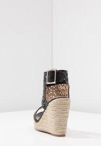 Cassis côte d'azur - PAMINA - Korolliset sandaalit - noir - 5