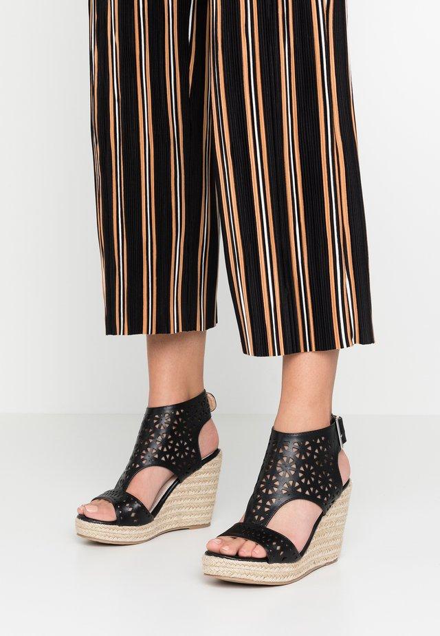 PAMINA - Sandaletter - noir