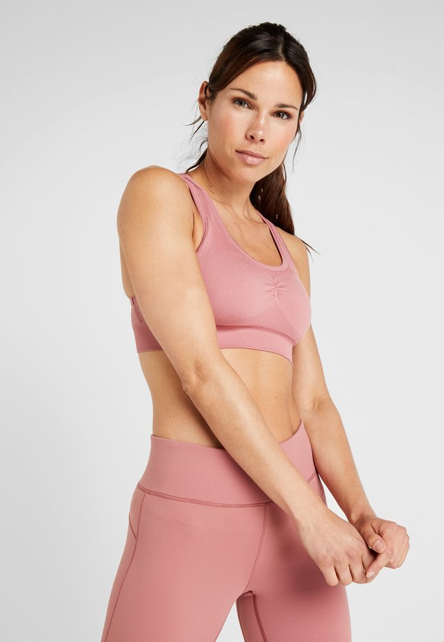 SMOOTH - Sports bra - salmon