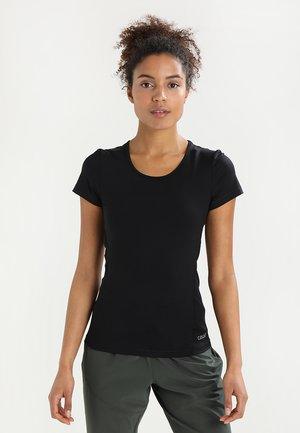 ESSENTIALS TEE - Basic T-shirt - black