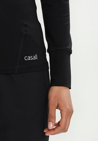 Casall - ESSENTIAL LONG SLEEVE - T-shirt à manches longues - black - 3