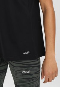 Casall - ESSENTIAL RELAXED TANK - Top - black - 5