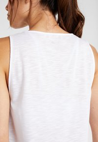Casall - CROSSWAYS TEXTURED TANK - Top - white - 4
