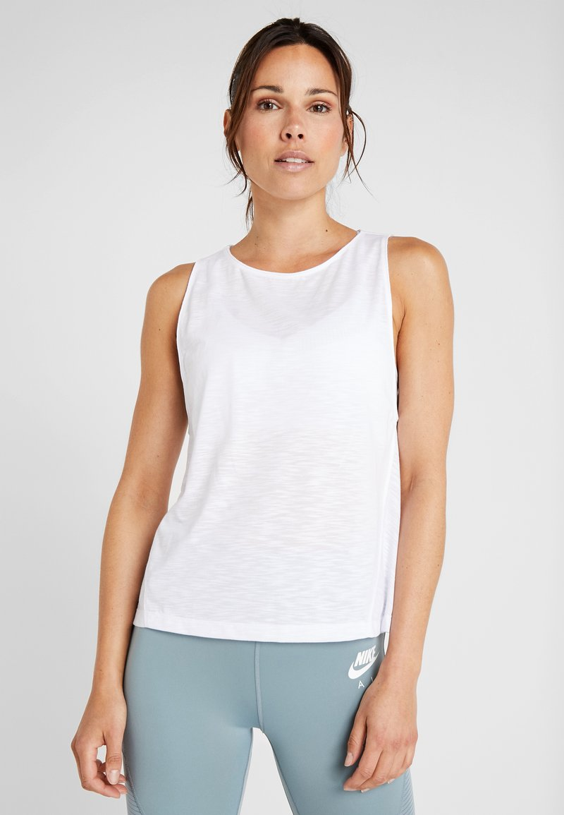 Casall - CROSSWAYS TEXTURED TANK - Top - white