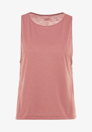CROSSWAYS TEXTURED TANK - Top - calming red