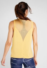Casall - LUSH MUSCLE TANK - Top - golden yellow - 2