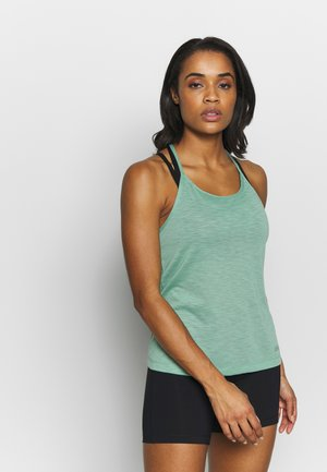 TEXTURE STRAP RACERBACK - Top - steamy green