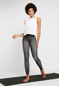 Casall - VISION SILKY MUSCLE TANK - Toppe - white - 1