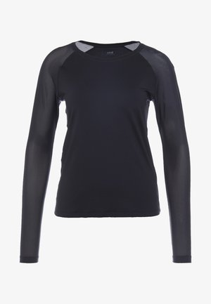 CASALL ENERGY LONG SLEEVE - Long sleeved top - black