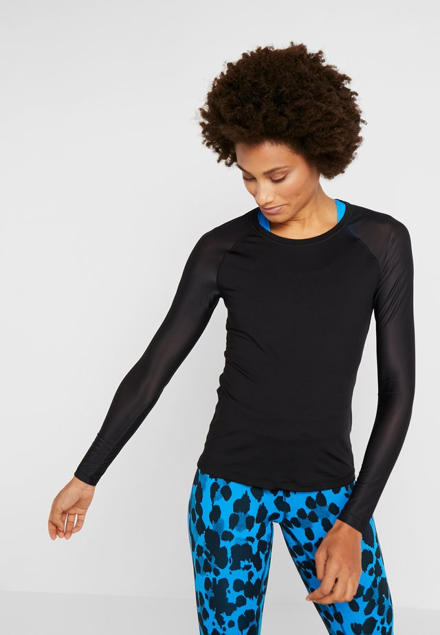 CASALL ENERGY LONG SLEEVE - Long sleeved top - black