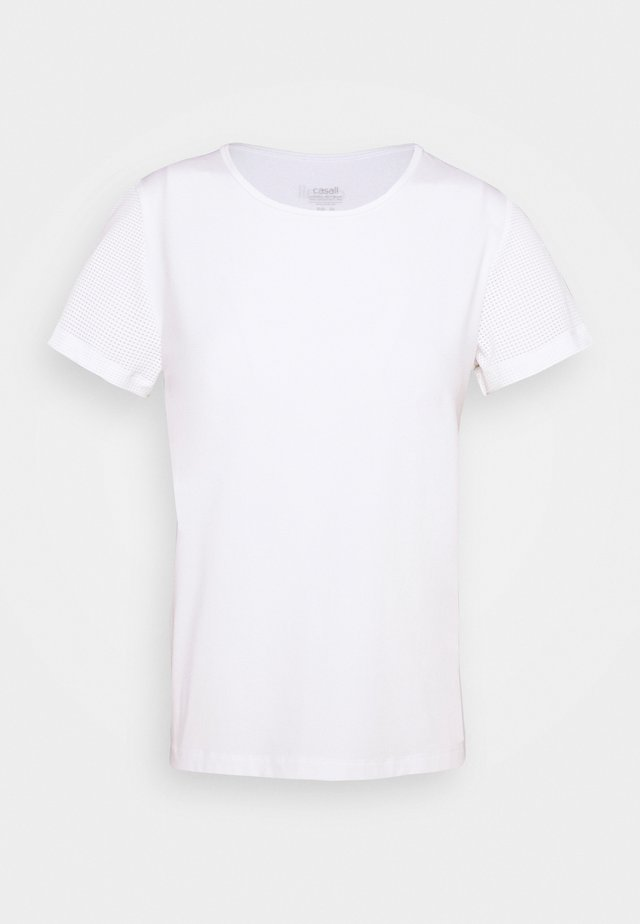 ICONIC TEE - T-shirt print - white