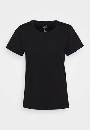 ICONIC TEE - T-shirt print - black