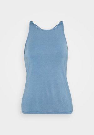 ATTITUDE STRAP TANK - Sports shirt - inclusive blue
