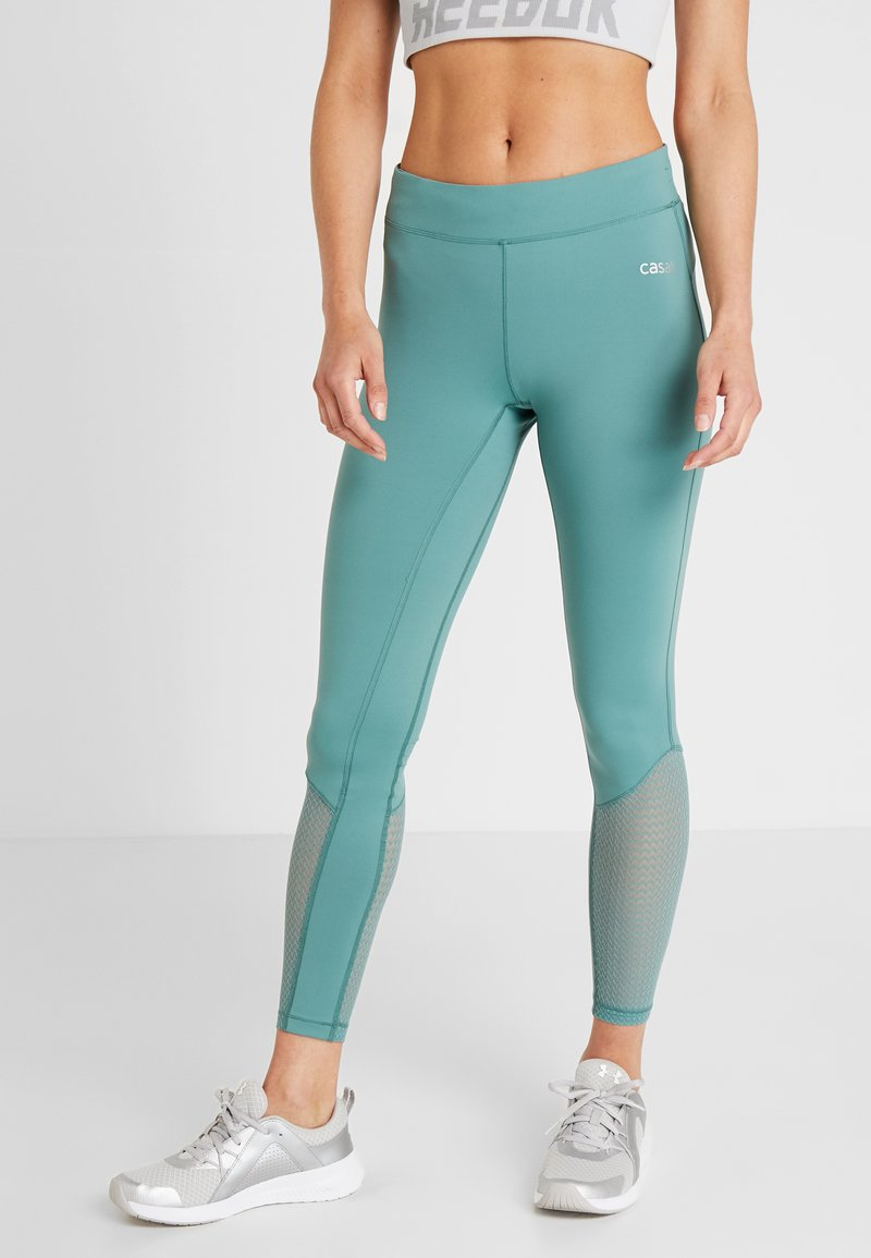 Casall - SYNERGY - Tights - streaming green