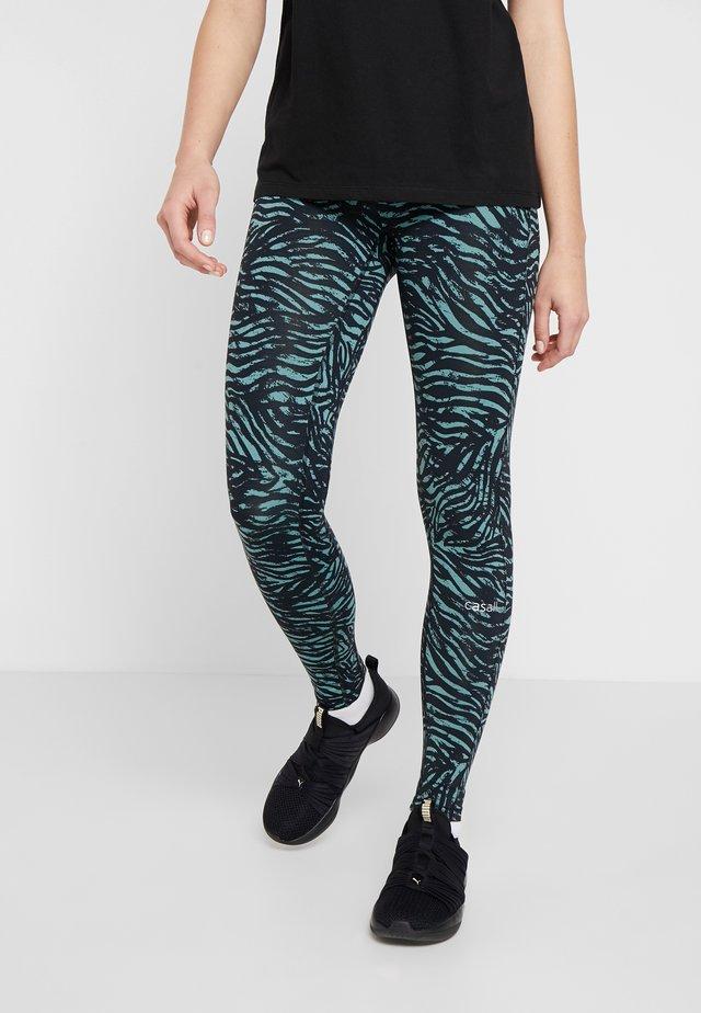 TIGER  - Leggings - green