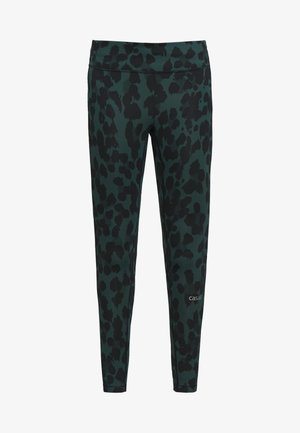 ICONIC PURE - Leggings - pure dark green