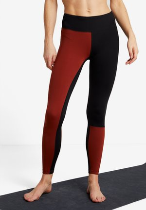 VISION BLOCK - Tights - brave brown