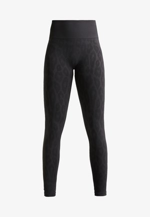 SEAMLESS LEO  - Leggings - dark grey