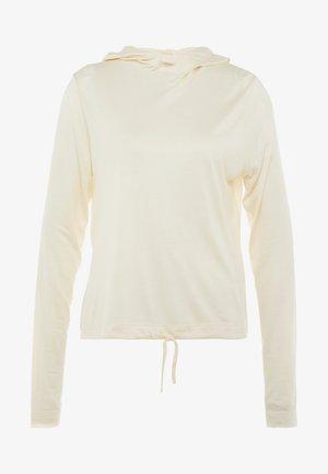LIQUID HOOD - Pitkähihainen paita - core white