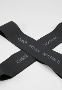 Casall - BAND MEDIUM 2 PACK - Fitness/yoga - black - 2