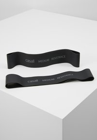 Casall - BAND MEDIUM 2 PACK - Fitness/yoga - black - 0