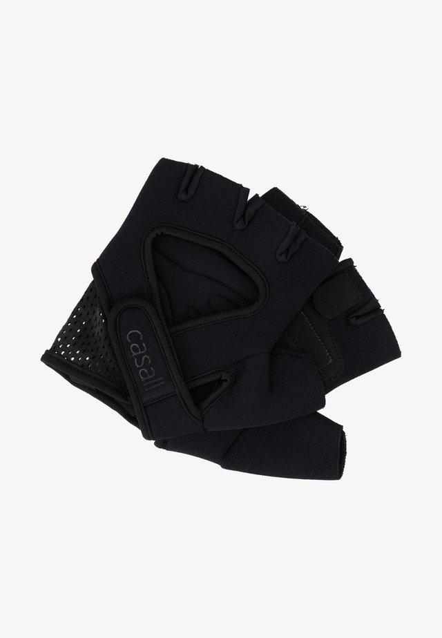 EXERCISE GLOVE STYLE - Kurzfingerhandschuh - black