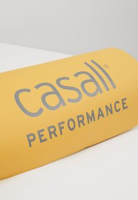 Casall - CASALL EXERCISE MAT 3MM - Fitness / yoga - golden yellow/core white - 3