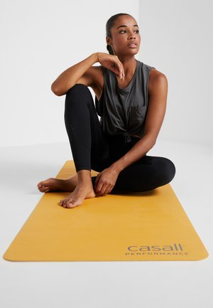 CASALL EXERCISE MAT 3MM - Fitness / Yoga - golden yellow/core white